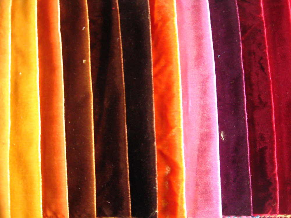 انواع پارچه مخمل لباسی