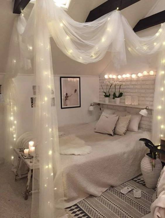 تور آویز تخت ساده